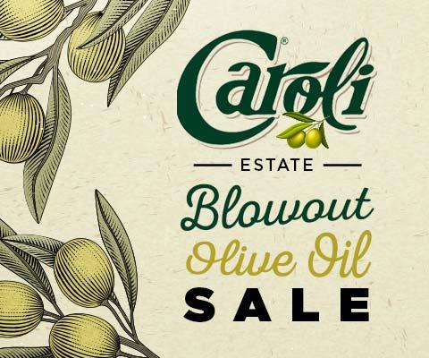 Caroli Olive Oil Blowout Sale | PremierGourmet.com