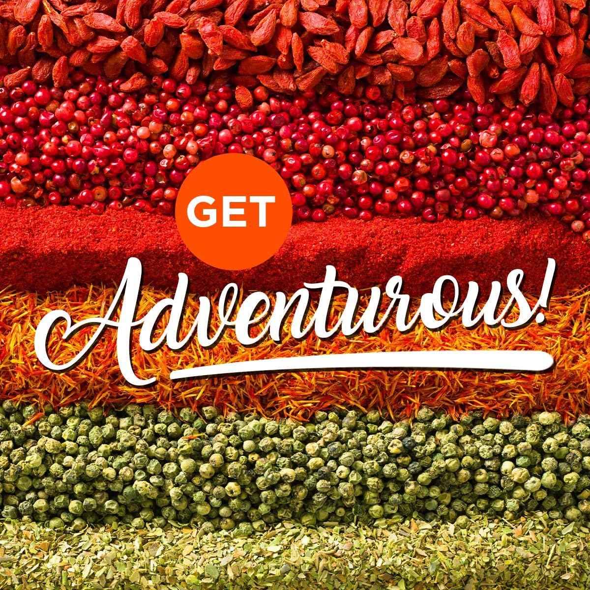 Get Adventurous!