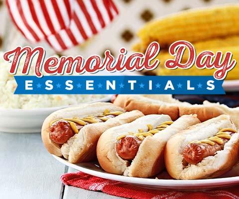 Memorial Day Essentials | PremierGourmet.com